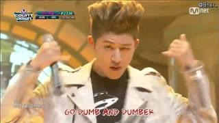 getlinkyoutube.com-[ซับไทย]160107 iKON (아이콘) - DUMB & DUMBER (덤앤더머) live