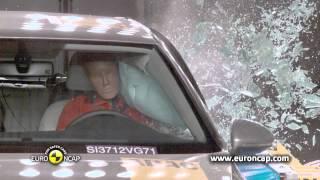 Golf kaza testi - Euro NCAP Volkswagen Golf 2012