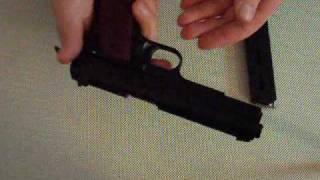 getlinkyoutube.com-Bruni 96 - Colt 1911 Demonstration, Strip & Reassembly