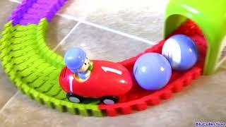 getlinkyoutube.com-Pocoyo Super Circuit Race Track - Supercircuito Pista de Corridas Baby Toys