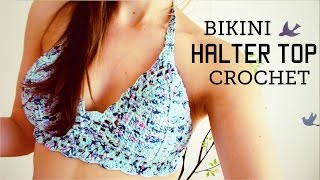 getlinkyoutube.com-bikini / halter top a crochet (ENGLISH SUBTITLES!) paso a paso - Parte 1 de 2