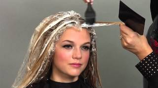 getlinkyoutube.com-Candy Shaw shares Balayage Tricks for Painting Hair