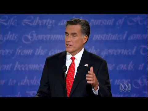Obama and Romney face off over healthcare and national debt