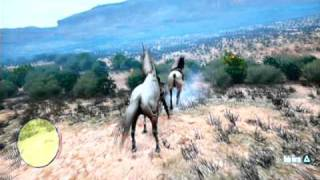 getlinkyoutube.com-Red Dead Redemption Undead Nightmare:  Location and Gamplay of The Unicorn