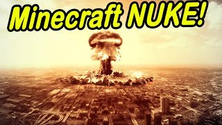 getlinkyoutube.com-Minecraft | CITY NUKED! | MASSIVE NUKE ON CITY!