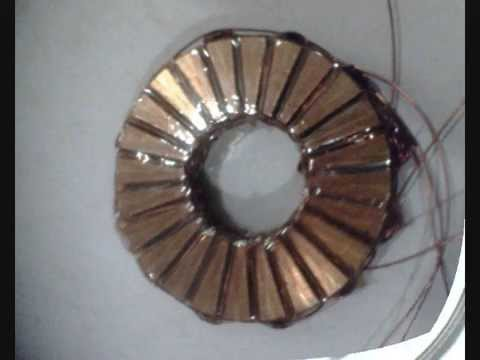 Axial-Flux, Permanent Magnet In-Wheel Motor Prototype #3