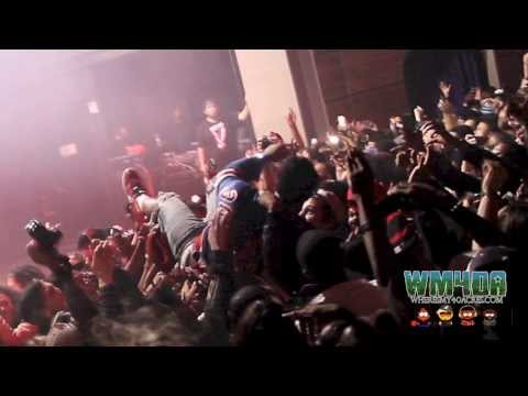 A$AP Ferg - Persian White ft. A$AP Mob Live in DC at Howard Theatre #TurntxBurnt