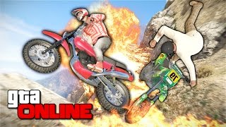 getlinkyoutube.com-GTA 5 Online (PC) - Потный мотокросс! #131