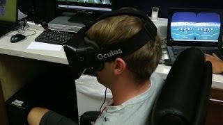 Football's Future? Training With Virtual Reality