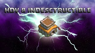 getlinkyoutube.com-HDV 8 indestructible ! Anti 3 étoiles GDC | Rayven | Papys Warriors | Clash of Clans français