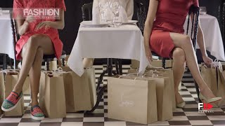 """CHRISTIAN LOUBOUTIIN """"Under the Table"""" SS16 Collection by Fashion Channel"""