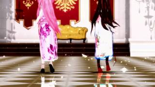 getlinkyoutube.com-[MMD] Spinal Fluid Explosion Girl - [พี่กิ๊ปปุริ & พี่เอก Lady ◑ω◐]