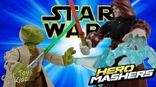 Star Wars Hero Mashers Yoda vs Emperor Palpatine