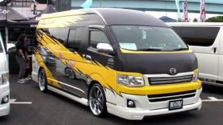 getlinkyoutube.com-2011 HIACE CUSTOM CAR SHOW JAPAN TOKYO Part3 SBM スタイルボックスミーティング