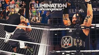 getlinkyoutube.com-WWE Elimination Chamber 2017 Highlights - WWE Championship Elimination Chamber Match (WWE 2K17)