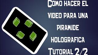 getlinkyoutube.com-Como hacer el video para una pirámide holográfica, holograma casero