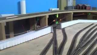 "getlinkyoutube.com-""Inclines and Bridge"" Model Trains Part 28 ""A"""