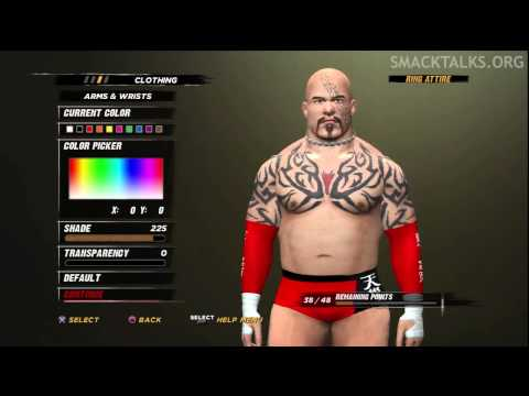 WWE '12 Lord Tensai CAW Formula by GaMeVoLt &amp; Dynomyte