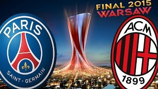 getlinkyoutube.com-PSG - AC Milan | Uefa Europa League Final | Pro Evolution Soccer 2015 | 1080p 60fps
