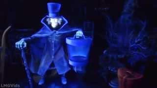 getlinkyoutube.com-[HD] Hatbox Ghost! Extreme Lowlight Haunted Mansion 2015 Disneyland Full Ridethrough POV 1080