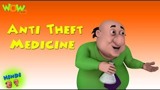 getlinkyoutube.com-Anti Theft Medicine - Motu Patlu in Hindi