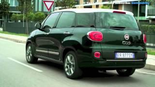 getlinkyoutube.com-Fiat 500L Living: Nuova 7 posti per tutta la famiglia