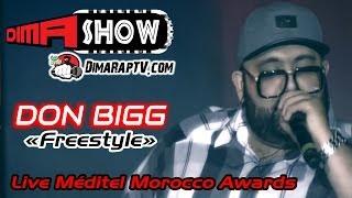 """getlinkyoutube.com-DON BIGG - """" Freestyle """" - Live Méditel Morocco Music Awards 2014 : (Dima Show)"""