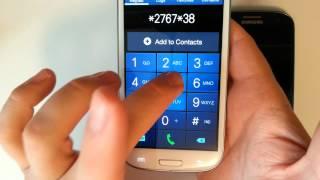 getlinkyoutube.com-Samsung Galaxy S3 - How to perform a factory data reset : all 3 methods