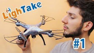 """getlinkyoutube.com-Çin'den Kameralı Drone Aldık """"Syma X5HC"""" - LighTake (1)"""