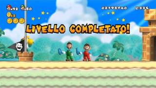 New Super Mario Bros Wii - 100% Walkthrough Co-op ITA - Parte 08 di 19