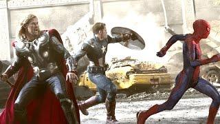 getlinkyoutube.com-Avengers: Age of Ultron w/ Spider-Man (Fan Made Trailer)