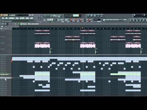 FL Studio Hip-Hop Beat (Rap Instrumental, Rap Beat)