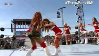 getlinkyoutube.com-8 Diva Santa Match (Tribute to Troops 2010)