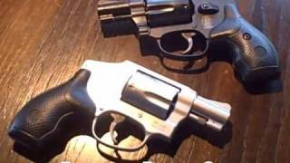 getlinkyoutube.com-Smith & Wesson Model 442 & 642 .38 +P Airweight Revolvers