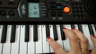 Dil To Paagal Hai | Title Song |  Keyboard-Casio Cover| tutorial