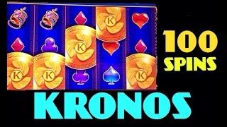 getlinkyoutube.com-**100 SPINS** KRONOS slot machine 100 Spins BONUS WIN
