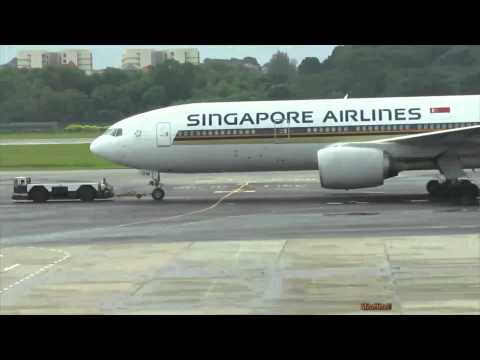 Various Aircraft - Singapore Changi Airport