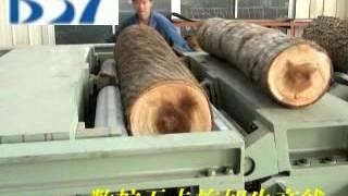 getlinkyoutube.com-Machines for Making Veneer,Plywood,Blockboard