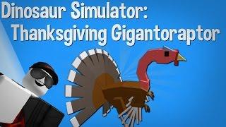 "getlinkyoutube.com-✓ Roblox - Dinosaur Simulator - How to get the ""Thanksgiving Gigantoraptor"" Skin"