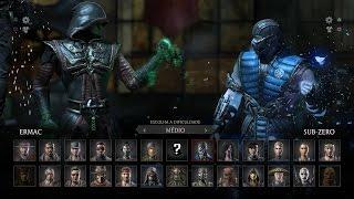 getlinkyoutube.com-Mortal Kombat X: Ermac vs Sub-Zero PT/BR (DUBLADO) PS4