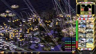 getlinkyoutube.com-C&C Red Alert 2 Yuris Revenge Challenge Map 3 Death Defined v1.6.2t3