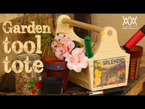 Garden toolbox and fun inkjet photo-transfer technique.