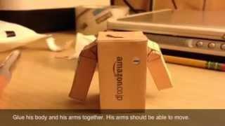 getlinkyoutube.com-Danbo Papercraft Tutorial