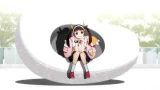 getlinkyoutube.com-Monogatari Series S2 OP 2: Happy Bite - Emiri Kato