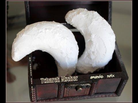 Recette corne de gazelle / Tcherek ou Tcharek Mseker / gateau algerien