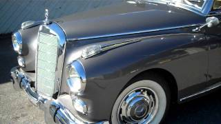 getlinkyoutube.com-This is how you start a 1958 Mercedes 300D