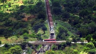 One of the Longest Snake of Indian Railways : Python Freight !!