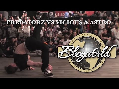 PREDATORZ vs VICIOUS VIC & ASTRO (RAW CIRCLES 2012) WWW.BBOYWORLD.COM