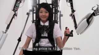 getlinkyoutube.com-130万回再生突破!「パワードジャケットMK3」世界初の搭乗型パワードスーツ市販モデル-Powered Jacket MK3-漫画「エクゾジャケット」のご紹介