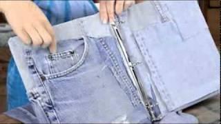 getlinkyoutube.com-Upcycle Jeans